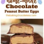 Home-Made Chocolate Peanut Butter Eggs