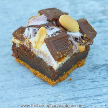 Rocky Road S'mores Brownies!