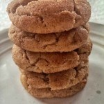 Soft and Thick Snickerdoodles