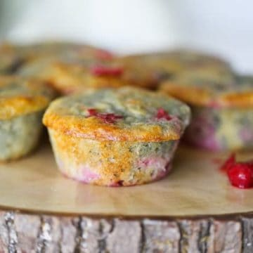 Home-Made Cherry Vanilla Yogurt Muffins