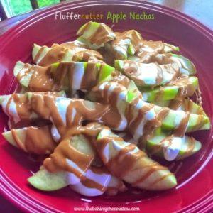 10 Minute - KitKat Fluffernutter Apple Nachos