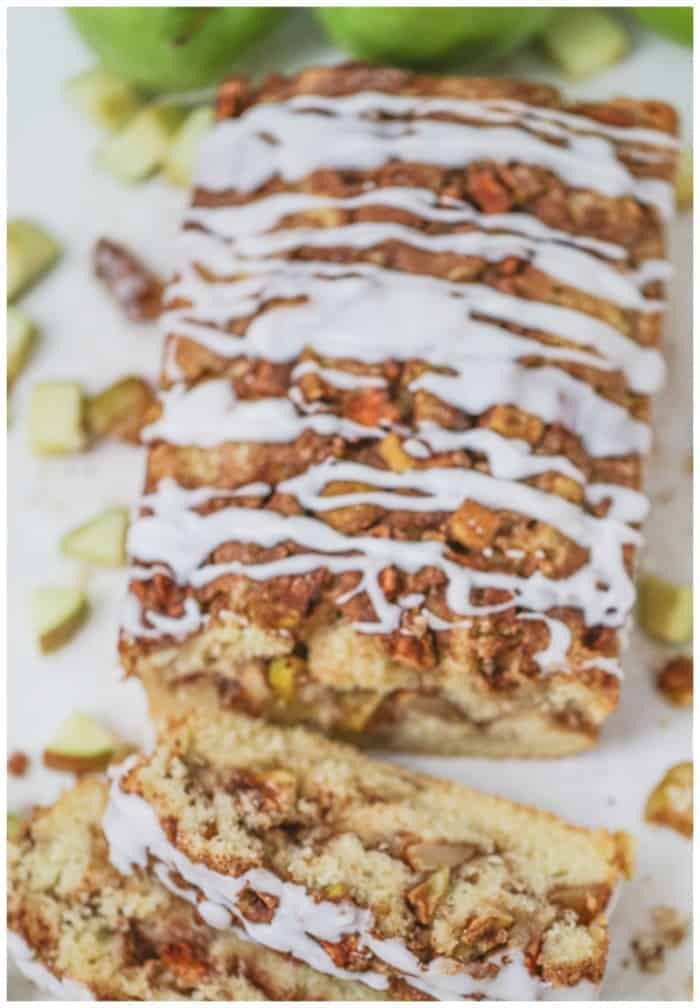 Awesome Country Apple Fritter Bread! (Featured on The Kitchen - Food Network!)