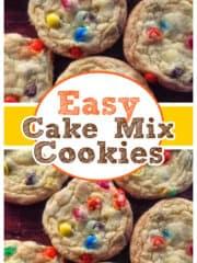 JUMBO Cake Batter Cookies