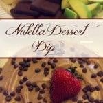 Skinny Nutella Dessert Dip! Hold me back!