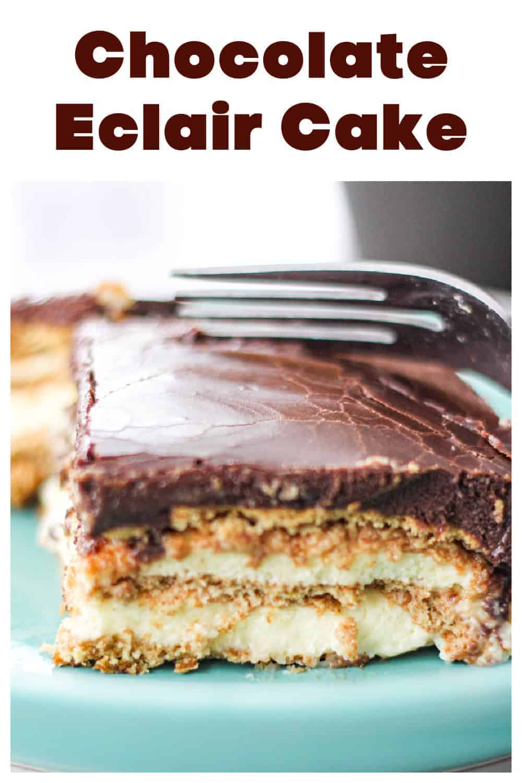 Elegant Chocolate Eclair Cake - It\'s Luscious!