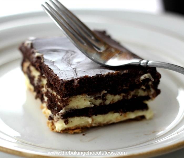 Elegant Chocolate Eclair Cake - It's Luscious! – The Baking ...