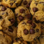 Soft Batch Pumpkin Chocolate Chip Cookies {Eggless too!}