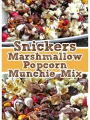 Snickers Marshmallow Popcorn Munchie Mix