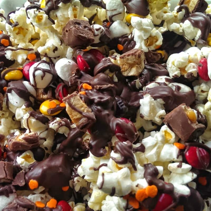Snicker Marshmallow Munchie Popcorn Snack Mix