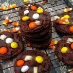 candy corn cake batter cookies12