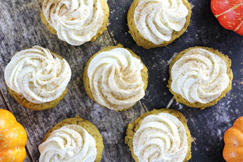 Ultimate Soft Pumpkin Cookies {Melt-in-your-Mouth}