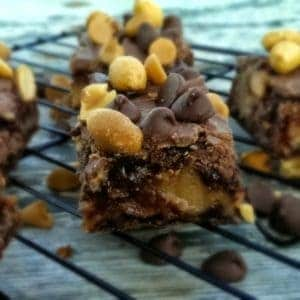 Rich n' Gooey Buckeye Bars