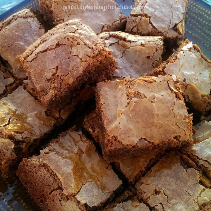 Rich Fudgy Flourless Milk Chocolate Brownies {GF}