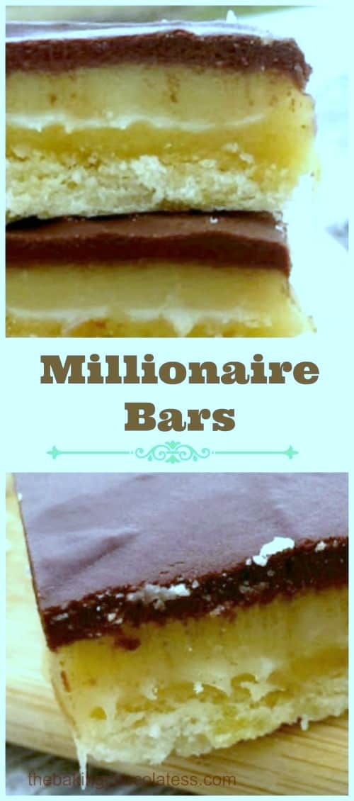 Who could resist this lovely trio of buttery, shortbread, smooth, creamy caramel and decadent, rich milk chocolate? #chocolate #shortbread #millionaire #bars #caramel #dessert