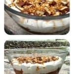 Heavenly Chocolate Caramel Cheesecake Brownie Trifle