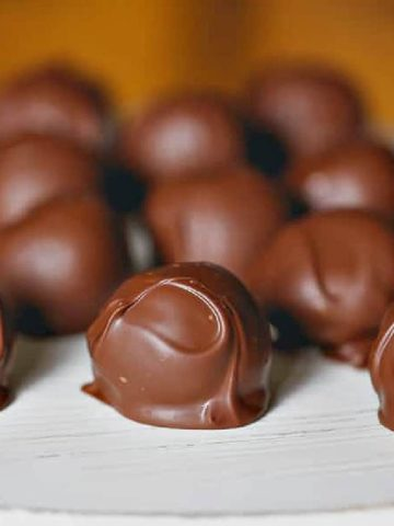 Milk Chocolate Peanut Butter Truffles!