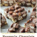 Heavenly Chocolate Rocky Road Candy! {5 Ingredients!}