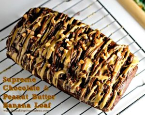 Supreme Chocolate & Peanut Butter Banana Loaf