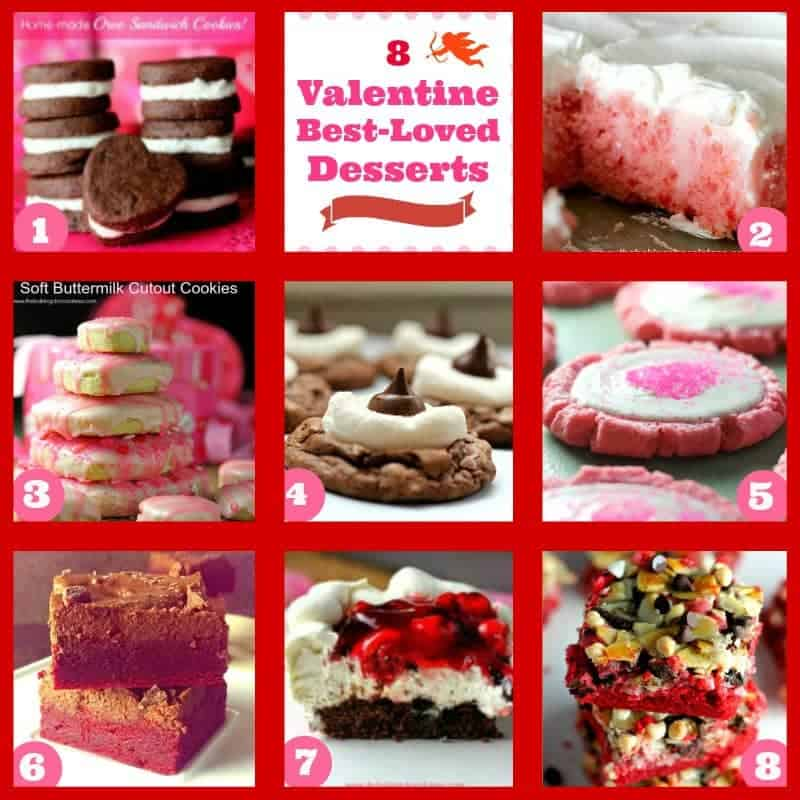 Sweet Valentine's Day Round-Up of Drool-Worthy Desserts!