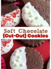 Soft Chocolate {Cut-Out} Cookies