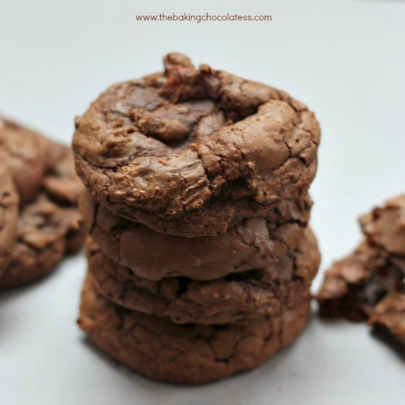 Brownie Chocolate Chip Marshmallow Cookies
