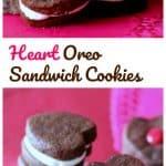 Home-made Oreo Heart Sandwich Cookies! {Cuteness Overload}