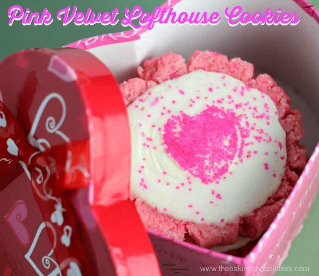 'Pink Velvet' Lofthouse Cookies {CopyCat Recipe}