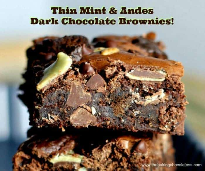 Thin Mint & Andes Dark Chocolate Brownies2