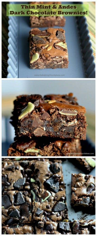 Thin Mint & Andes Dark Chocolate Brownies5