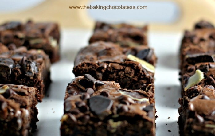Thin Mint & Andes Dark Chocolate Brownies3