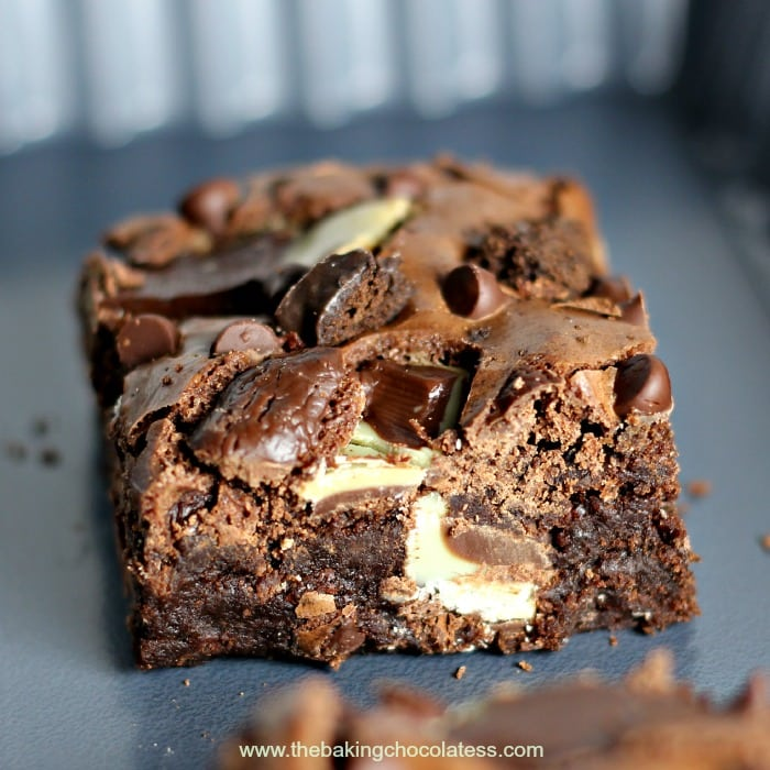 Thin Mint & Andes Dark Chocolate Brownie2