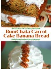 RumChata Carrot Cake Banana Bread