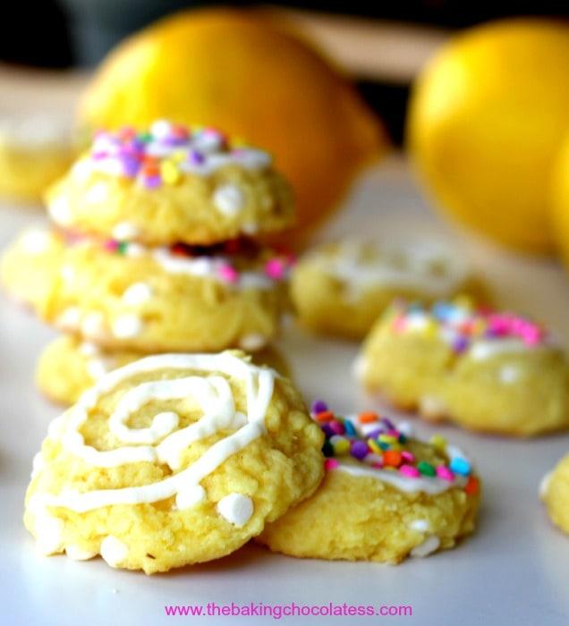 Yellow Cake Mix Chocolate Chip Cookies Cream Cheese