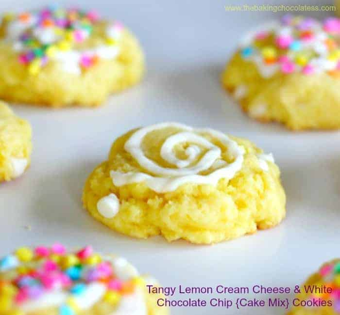Cake Mix Cookies With Cream Cheese Frosting