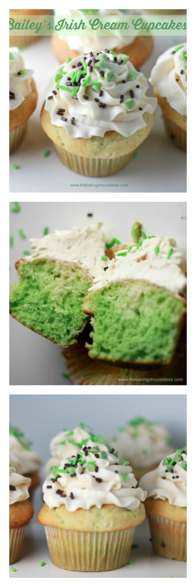 Bailey's Irish Cream Cupcakes!