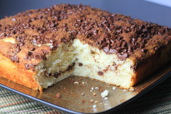 Bisquick Chocolate Cinnamon Greek Yogurt Banana Coffee Cake