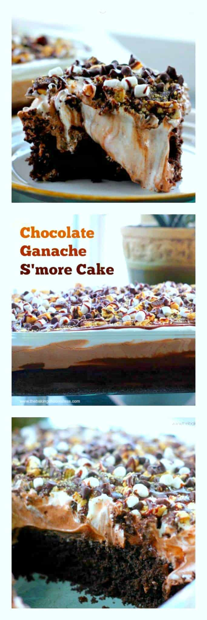 Chocolate Ganache S\'More Cake {It\'s What Sweet Dreams are Made of}