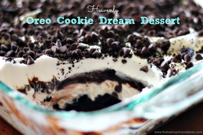 Heavenly Oreo Cookie Dream Dessert