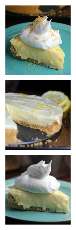 Luscious Lemon Sour Cream Pie!