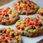 Reese's Pieces Peanut Butter Blast Cookies