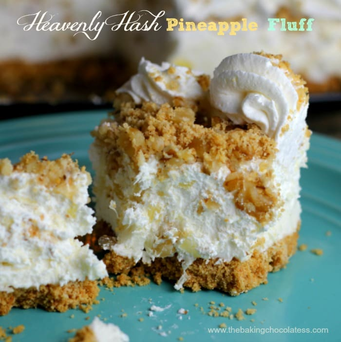 Heavenly Hash Pineapple Fluff Dessert