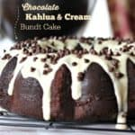 Chocolate Kahlua & Cream Bundt Cake