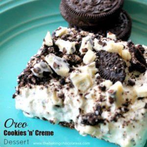 Oreo Cookies 'n' Creme Dessert