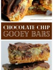 OMG Chocolate Chip Gooey Bars