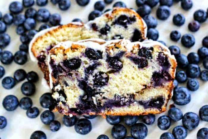 Country Blueberry Fritter Loaf