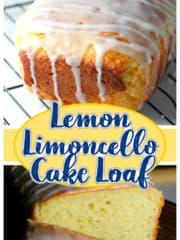 Lemon Limoncello Cake Loaf