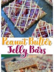 Peanut Butter Jelly Bars