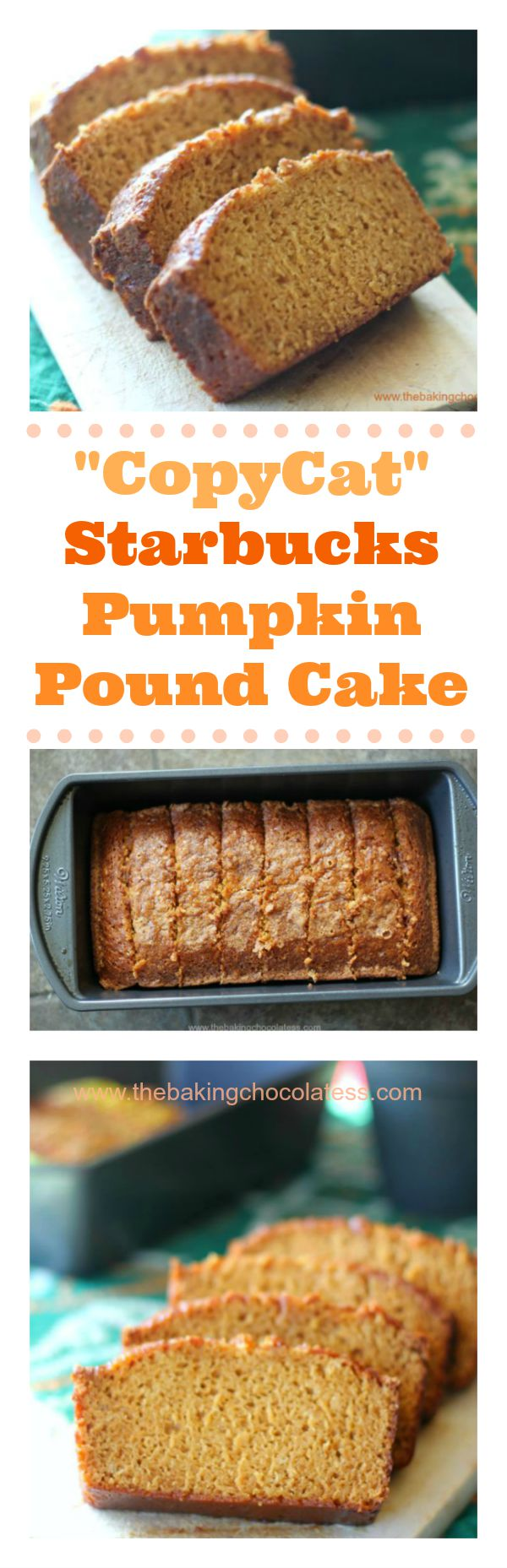 Starbucks Pumpkin Pound Cake Recipe