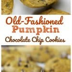 Old Fashioned Pumpkin Chocolate Chip Cookies