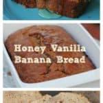 Mimi's Honey Vanilla Banana Bread
